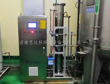 冰露纯净水400g臭氧发生器应用现场(图1)